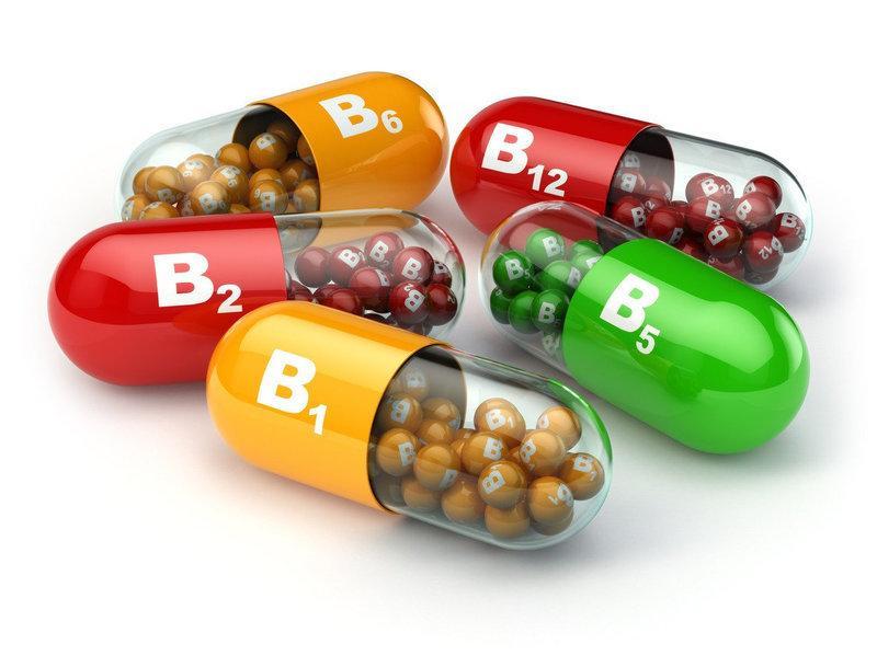 витамины B6, B12 и B9